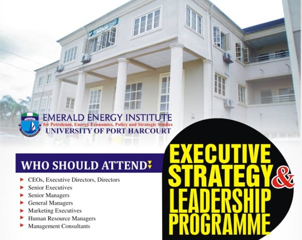 EEI UNIPORT Presents short  courses on Executive Strategy and Leadership Programme